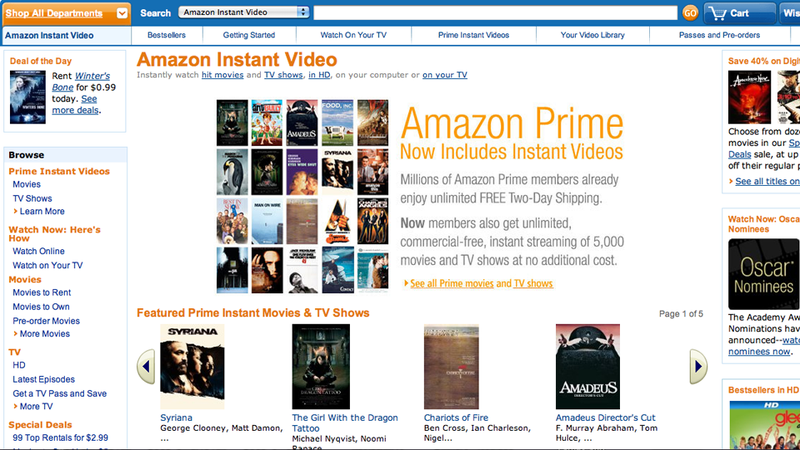 Illustration for article titled What Is Amazon Instant Video?