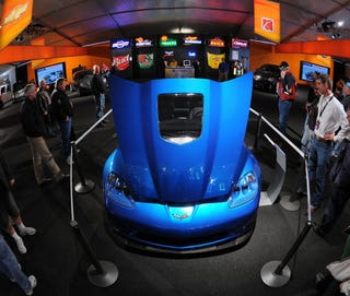 Illustration for article titled Barrett-Jackson: First 2009 Corvette ZR1 Sells at Auction for $1,000,000