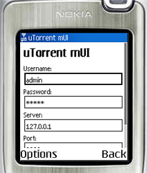 Illustration for article titled Control BitTorrent downloads from your mobile phone with uTorrent mUI