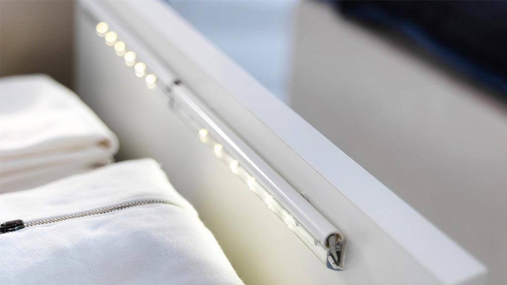 Ikeas LED Strips Automatically Illuminate the Deepest Darkest Drawers