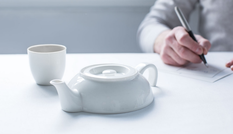 Illustration for article titled Half of a Teapot Is Actually the Perfect Amount of Teapot