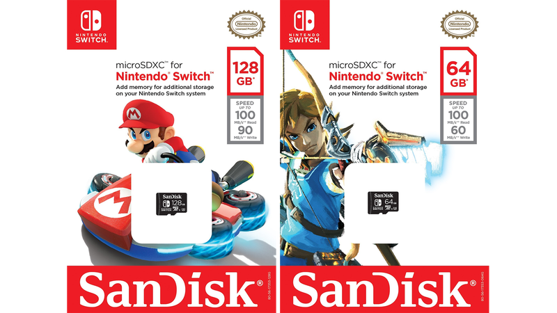 You know a console is doing well when SanDisk starts rolling out licensed SD cards.