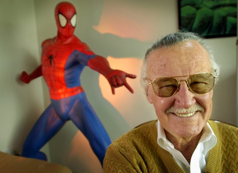 Stan Lee, photographed in January 2018