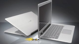 Illustration for article titled Acer Totally Rips Off the New MacBook Air