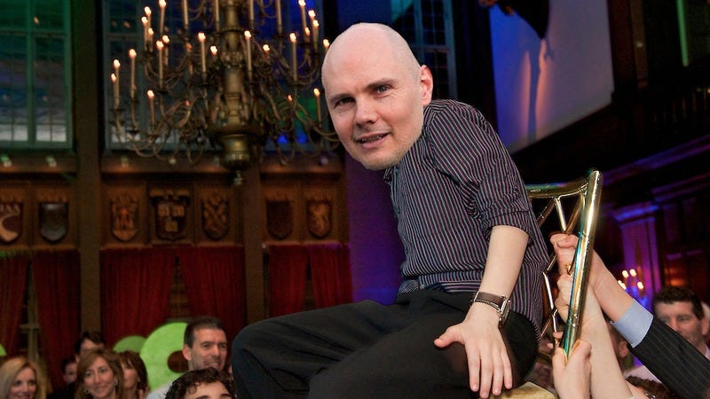 Illustration for article titled Billy Corgan has become a man, wants to be called William now