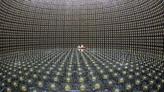 Illustration for article titled Mysterious changing neutrinos could explain why we don't live in an antimatter universe