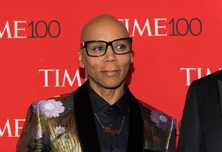 RuPaul attends the 2018 Time 100 Gala at Frederick P. Rose Hall, Jazz at Lincoln Center on April 24, 2018 in New York City.