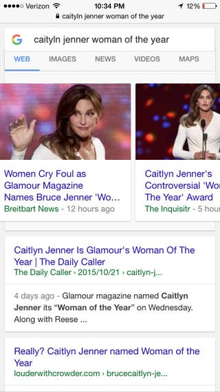 "Illustration for article titled Gahhh - too many FB posts proclaiming Caitlyn Jenner ""can't"" be woman of the year"