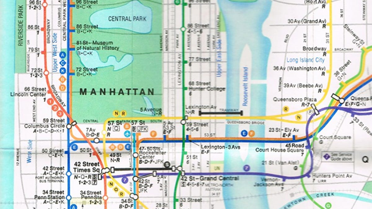 Mya Subway Map.15 Subway Maps That Trace Nyc S Transit History
