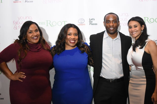 Amina Mance, Danielle Belton, Quentin Holmes and Donna Byrd (Veronica Graves/The Root)