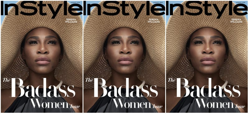 Illustration for article titled Bona Fide Badass: Serena Williams Covers InStyle's Badass Women Issue