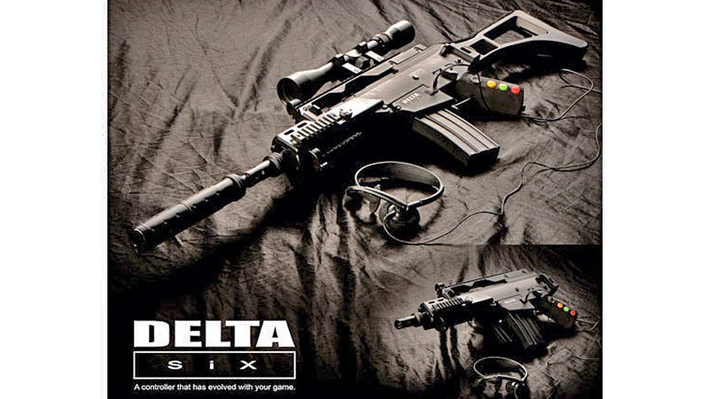 Illustration for article titled Over the Top Rifle Controller Makes Modern Warfare More Real Than Ever