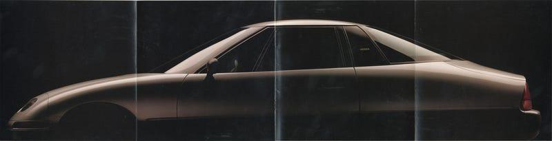 Photo: scan of my EV1 brochure