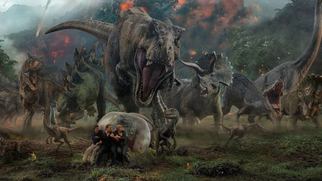 I Want Jurassic World 3's Animatronic Triceratops as a Pet