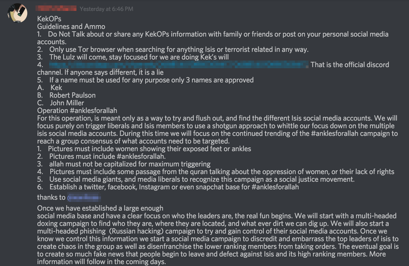 4chan Declares 'War' on ISIS
