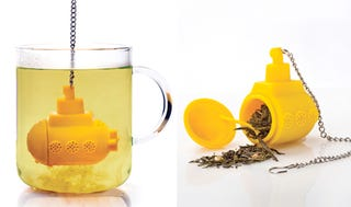 Illustration for article titled We All Drink From The Yellow Submarine (Tea Infuser)