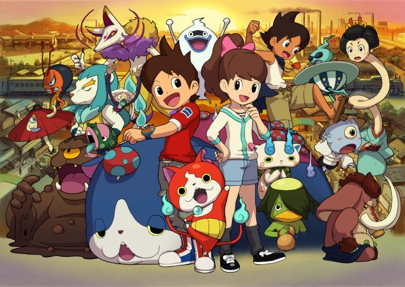 Illustration for article titled Hopefully Yo-kai Watch 2 Will Give Me Those Familiar Summer Chills