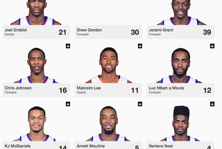 Illustration for article titled Jesus, Have You Looked At The 76ers' Roster?