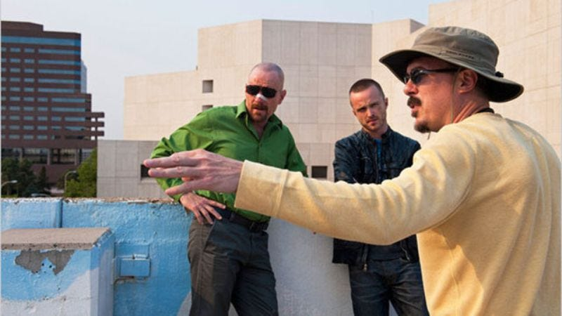 Illustration for article titled This Is Vince Gilligan's Series Bible For 'Breaking Bad'