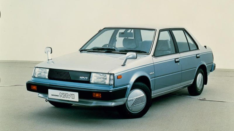 Nissan Made The Accurate Boring Car Of The Future Way Back In 1983