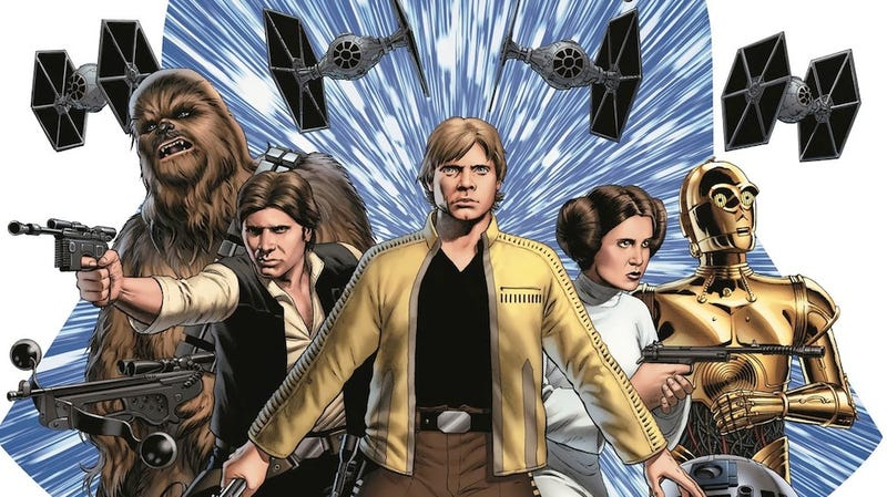 Illustration for article titled The New, In-Canon Star Wars Comic Just Did Something Completely Insane