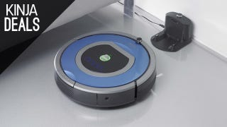 Illustration for article titled This Discounted Roomba Takes Vacuuming Off Your To-Do List