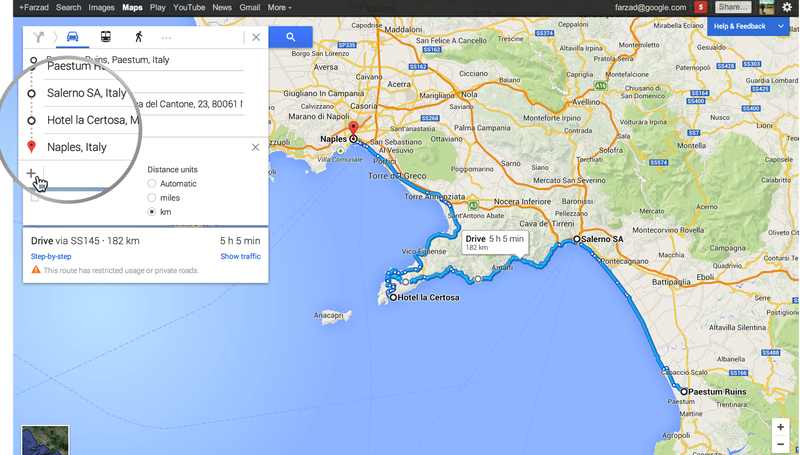 Illustration for article titled Google Maps Adds Multiple Destinations, Events, and Reservations