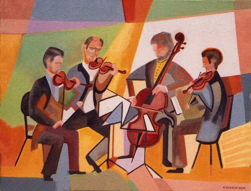 Illustration for article titled Progress on My String Quartet!