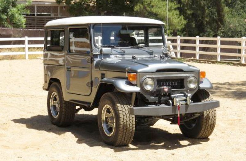 Illustration for article titled Whoa, A Diesel 1979 Toyota Land Cruiser for $85,000?