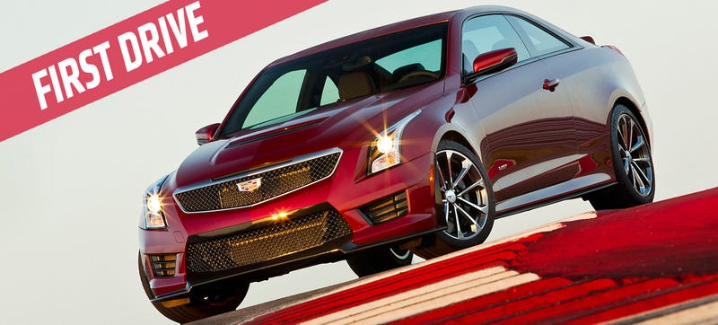 Illustration for article titled 2016 Cadillac ATS-V: A 464 HP Hurricane For The Track And Street
