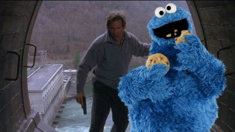 Illustration for article titled Cookie Monster to become fugitive in one-hour Sesame Street special