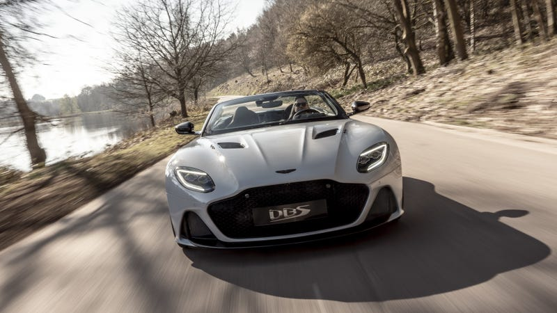 The 2020 Aston Martin DBS Superleggera Volante Is so Beautiful It Makes My Stomach Ache