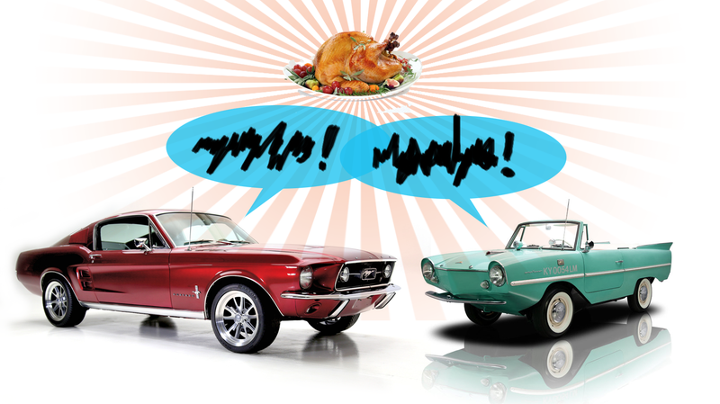 Illustration for article titled These Are The Most Common Car-Arguments You'll Likely Get Into During Thanksgiving