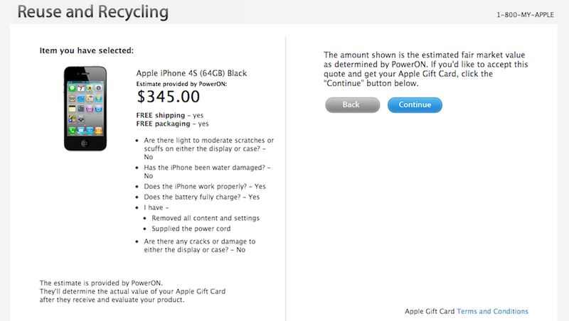 Illustration for article titled Apple Will Buy Your Old iPhone for Good Money So You Can Buy a New iPhone 5