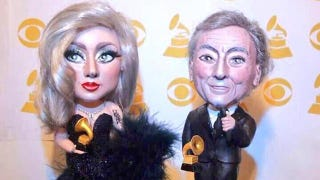 Illustration for article titled Lady Gaga and Tony Bennett in Doll Form Is Quite the Sight