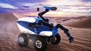An Astronaut On the ISS Will Control a New Type of Haptic Rover Here On Earth