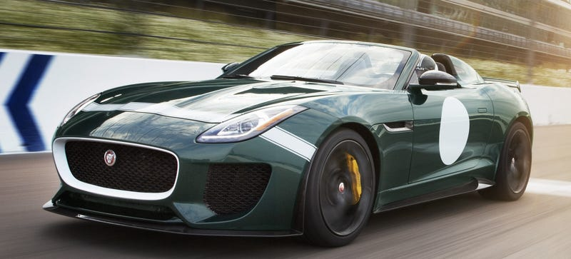 Illustration for article titled Sweet Merciful Crap: Jaguar Is Building A Production F-Type Project 7!