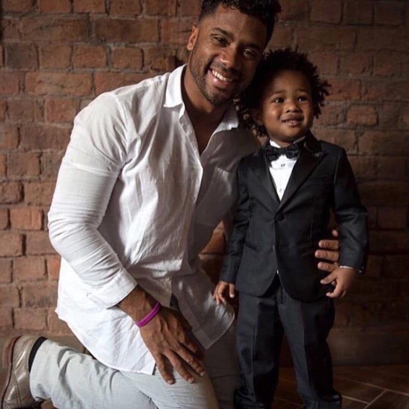 Russell Wilson and Future Jr.Instagram