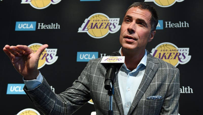 Illustration for article titled Lakers GM Rob Pelinka Is Reportedly Learning How The Salary Cap Works In Real Time