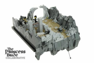Illustration for article titled It's Inconceivable These Wonderful Princess Bride Lego Sets Aren't Real