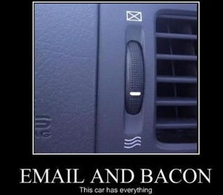 Illustration for article titled Email And Bacon: Misinterpreting Your Car's Iconography