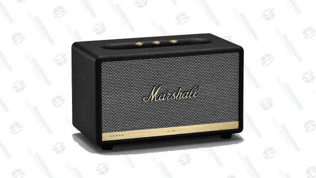 Amazon Turned It Up to 11 and Dropped The Price On a Marshall Acton II Smart Speaker