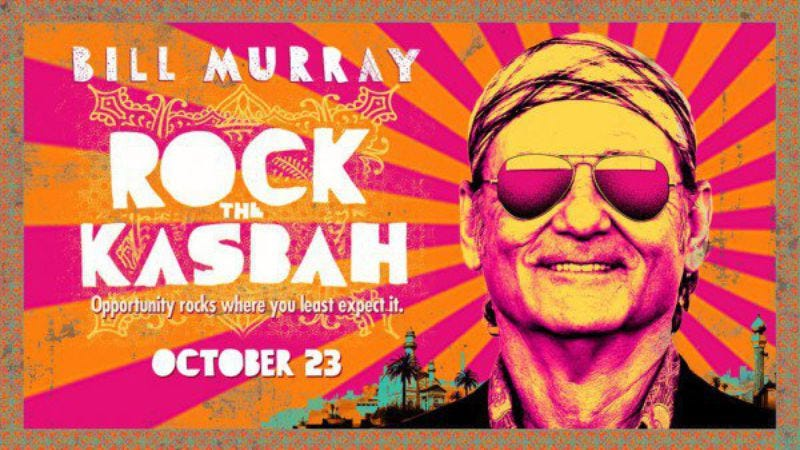 Movie poster, Rock The Kasbah