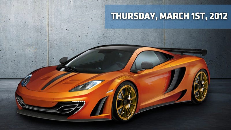 Illustration for article titled Mansory McLaren MP4-12C, Obama CAFE Numbers Investigated, And Chevy's Weird Web Sitcom