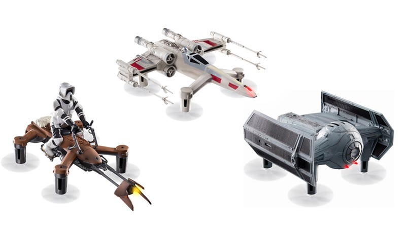 Illustration for article titled These Collector's Edition Star Wars Drones Are Just $40 (Over 65% Off)