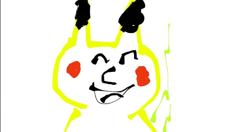 Illustration for article titled Some of the Worst Pikachu Drawings on the Internet