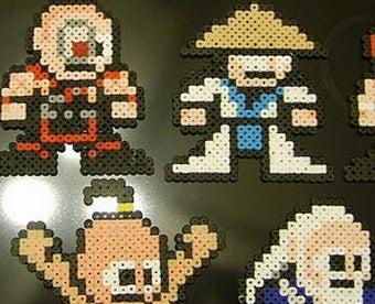 Illustration for article titled When Mega Man Meets Mortal Kombat