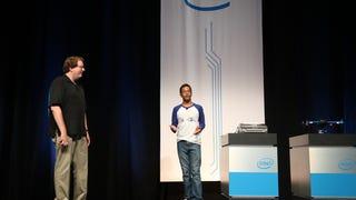 Braigo v2.0 demonstrated at IDF 2014 using Intel's Edison Chip