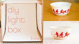 Illustration for article titled Turn a Cardboard Box into a Photo Light Box