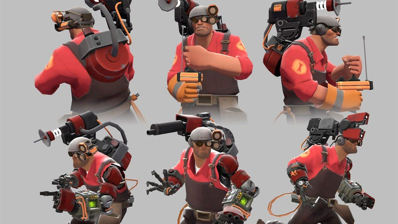Illustration for article titled Some of Team Fortress 2's Coolest Weapons Have Been Made by You